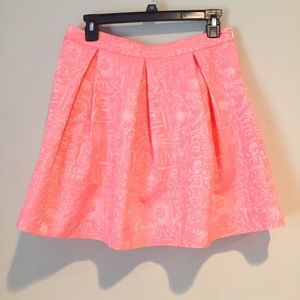 Lilly Pulitzer Harlie pleated skirt size 8